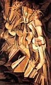 Nudo che scende le scale di Marcel Duchamp